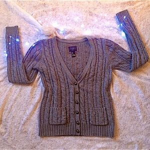 🎃FOREVER 21 Cable Knit Cardigan Sweater CLEARANCE